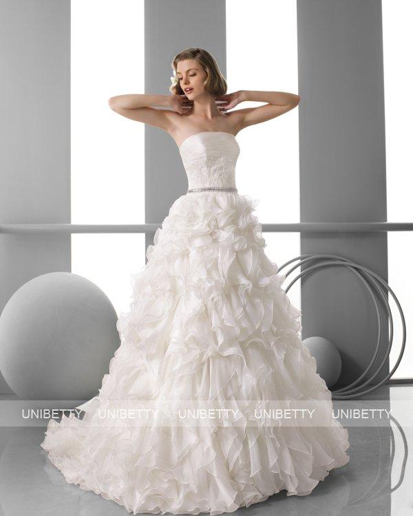 ウェディングドレス サイズオーダー無料 オーダードレス ウエディング プリンセスライン WEDDING DRESS 披露宴 演奏会 結婚式 二次会 ws2441