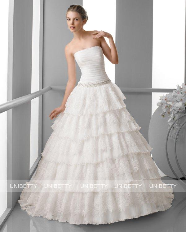 ウェディングドレス サイズオーダー無料 オーダードレス ウエディング プリンセスライン WEDDING DRESS 披露宴 演奏会 結婚式 二次会 ws2423