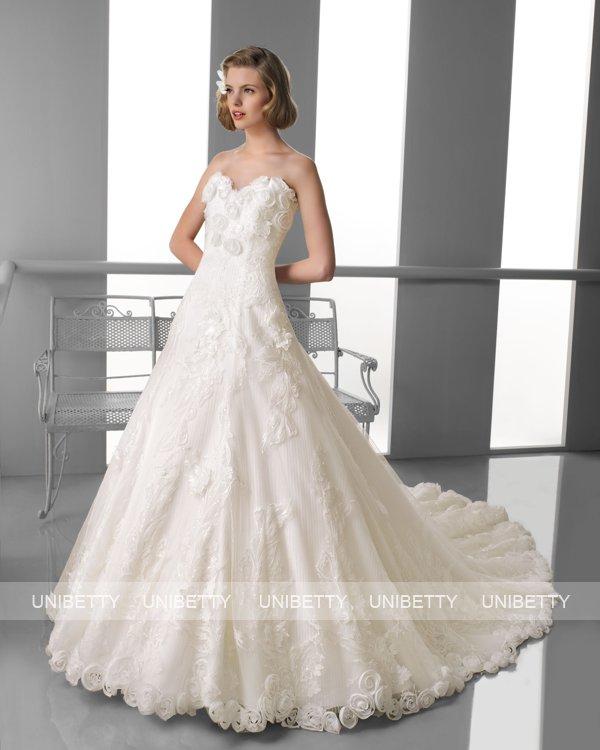ウェディングドレス サイズオーダー無料 オーダードレス ウエディング プリンセスライン WEDDING DRESS 披露宴 演奏会 結婚式 二次会 ws2386