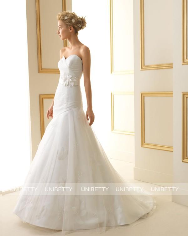 ウェディングドレス 結婚式 オーダードレス ウエディング マーメイドライン 結婚式 披露宴 演奏会 二次会 花嫁ws2518