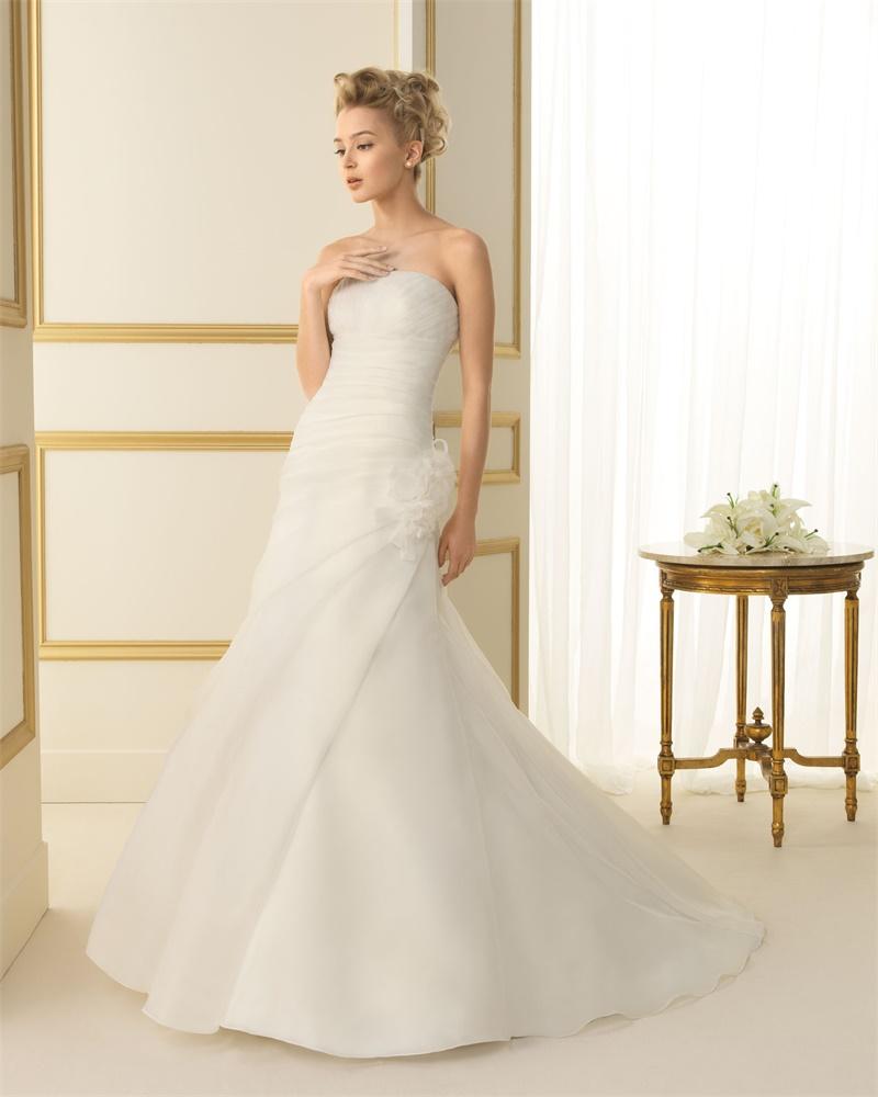 ウェディングドレス 結婚式 オーダードレス ウエディング マーメイドライン 結婚式 披露宴 演奏会 二次会 花嫁 ws2453