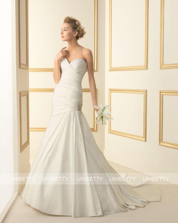 ウェディングドレス 結婚式 オーダードレス ウエディング マーメイドライン 結婚式 披露宴 演奏会 二次会 花嫁 ws2457