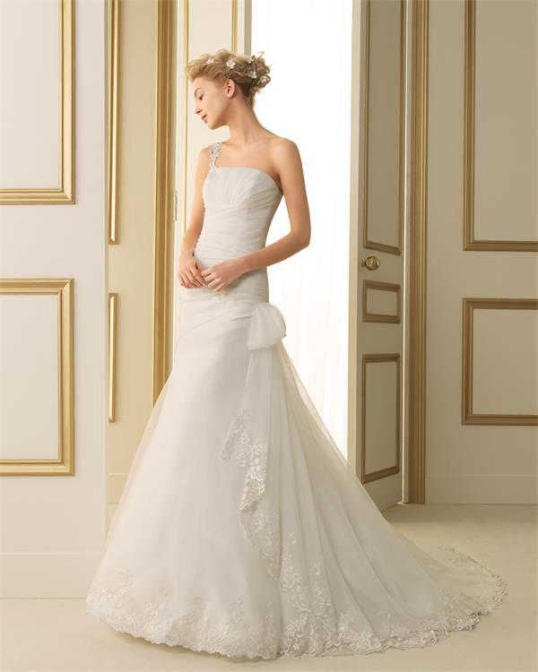 ウェディングドレス 結婚式 オーダードレス ウエディング マーメイドライン 結婚式 披露宴 演奏会 二次会 花嫁 ws2460
