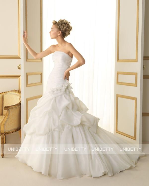 ウェディングドレス 結婚式 オーダードレス ウエディング マーメイドライン 結婚式 披露宴 演奏会 二次会 花嫁 ws2499