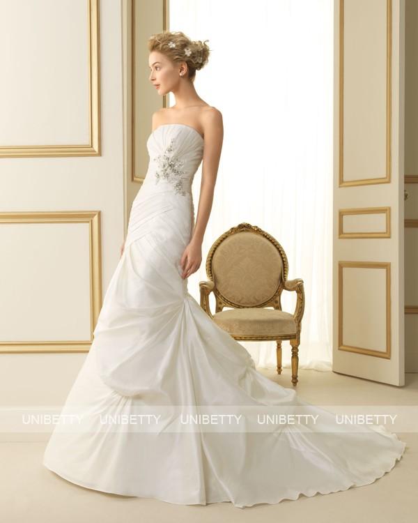 ウェディングドレス 結婚式 オーダードレス ウエディング マーメイドライン 結婚式 披露宴 演奏会 二次会 花嫁 ws2471