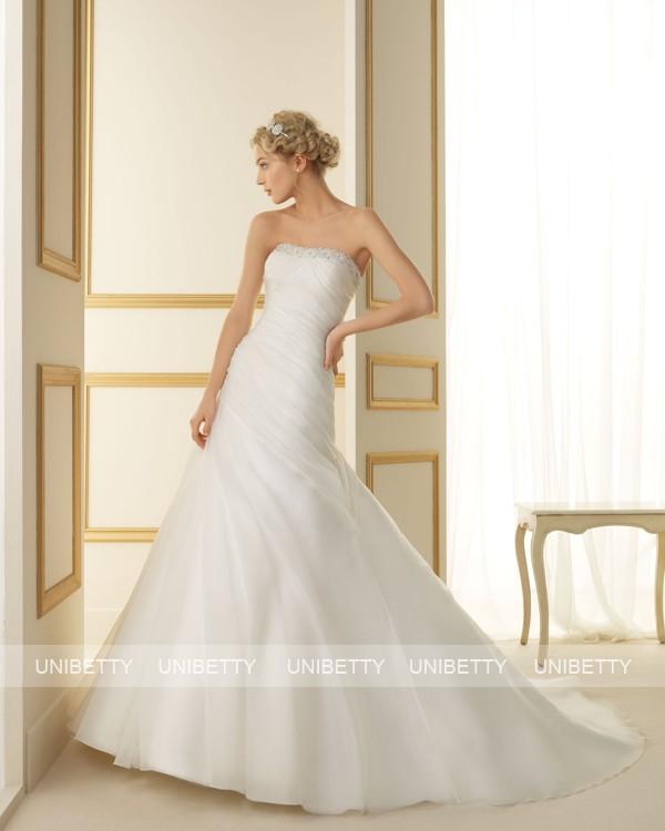 ウェディングドレス 結婚式 オーダードレス ウエディング マーメイドライン 結婚式 披露宴 演奏会 二次会 花嫁 ws2451