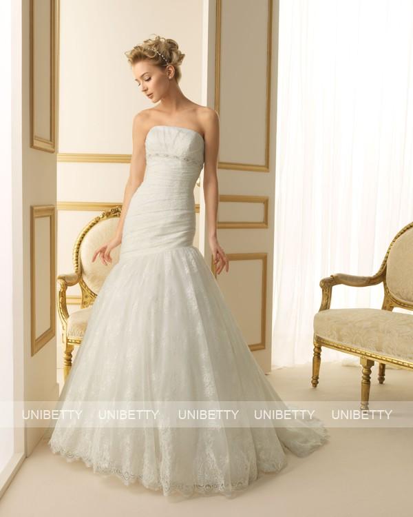 ウェディングドレス 結婚式 オーダードレス ウエディング マーメイドライン 結婚式 披露宴 演奏会 二次会 花嫁 ws2493