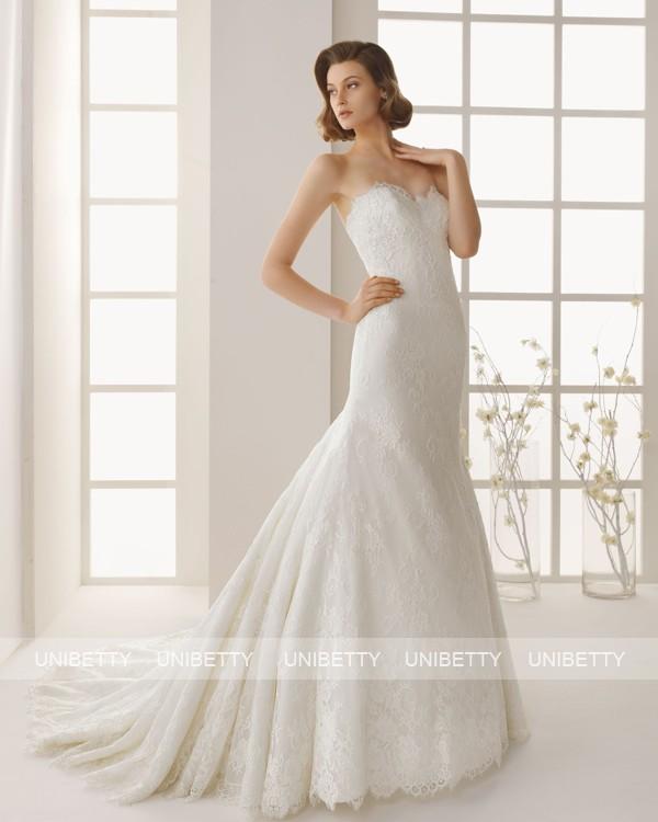 ウェディングドレス サイズオーダー無料 オーダードレス ウエディング マーメイドライン WEDDING DRESS 披露宴 結婚式 二次会 ws2537