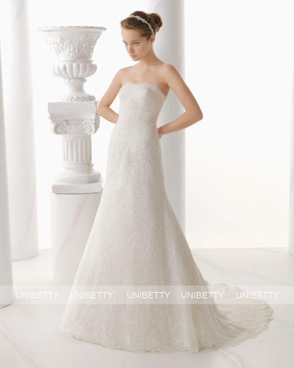 ウェディングドレス サイズオーダー 送料無料 マーメイドライン 結婚式 二次会 披露宴 ws2707