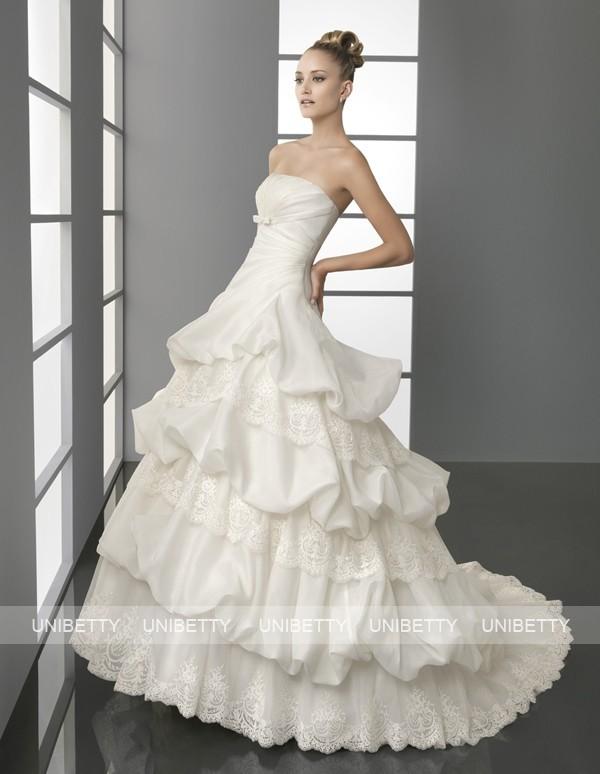 ウェディングドレス ウェディングドレス プリンセスライン SA0034