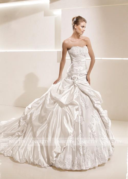 ウェディングドレス サイズオーダー無料 オーダードレス ウエディング プリンセスライン WEDDING DRESS 結婚式 披露宴 演奏会 二次会 花嫁 WS2169