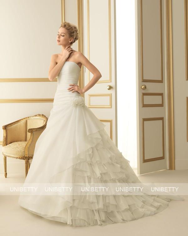 ウェディングドレス 結婚式 オーダードレス ウエディング プリンセスライン 結婚式 披露宴 演奏会 二次会 花嫁 ws2474