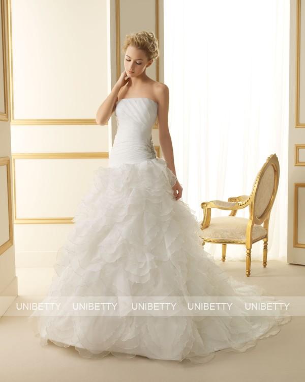 ウェディングドレス 結婚式 オーダードレス ウエディング プリンセスライン 結婚式 披露宴 演奏会 二次会 花嫁 ws2527