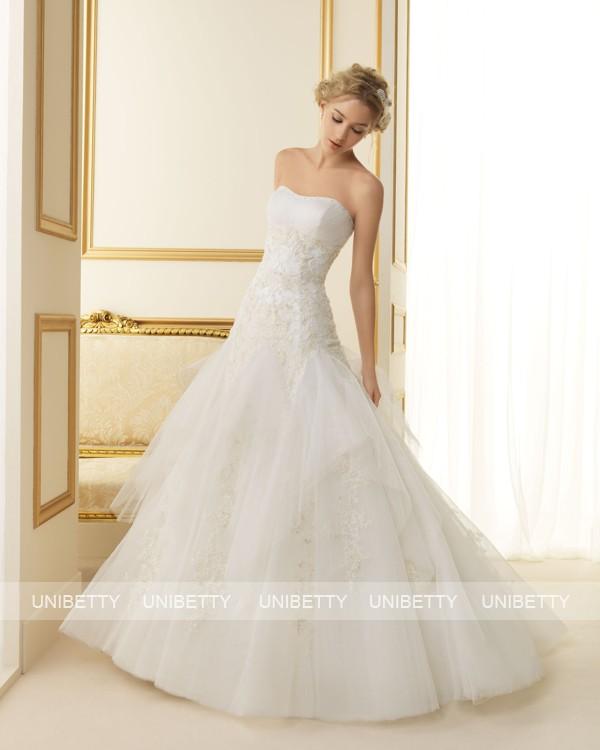 ウェディングドレス 結婚式 オーダードレス ウエディング プリンセスライン 結婚式 披露宴 演奏会 二次会 花嫁 ws2481