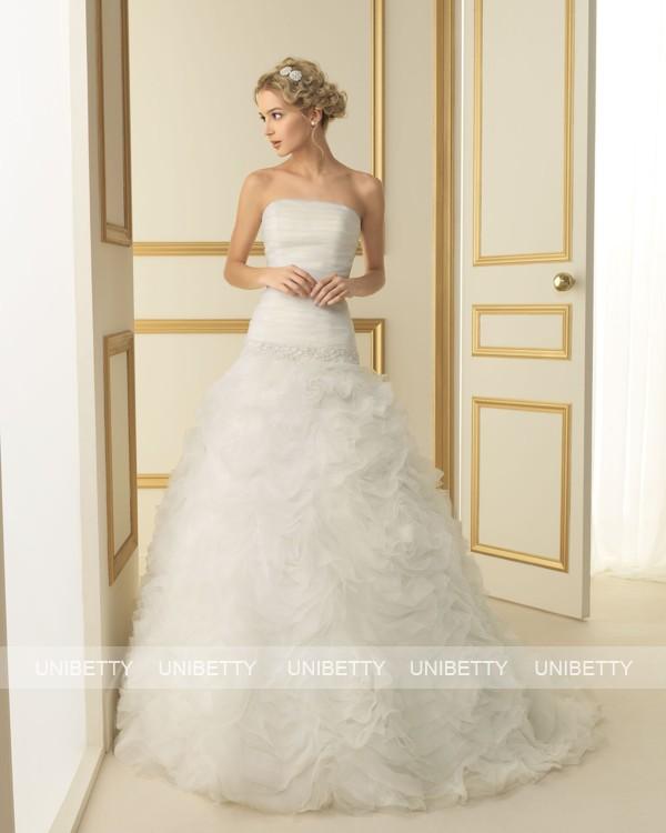 ウェディングドレス 結婚式 オーダードレス ウエディング プリンセスライン 結婚式 披露宴 演奏会 二次会 花嫁 ws2514