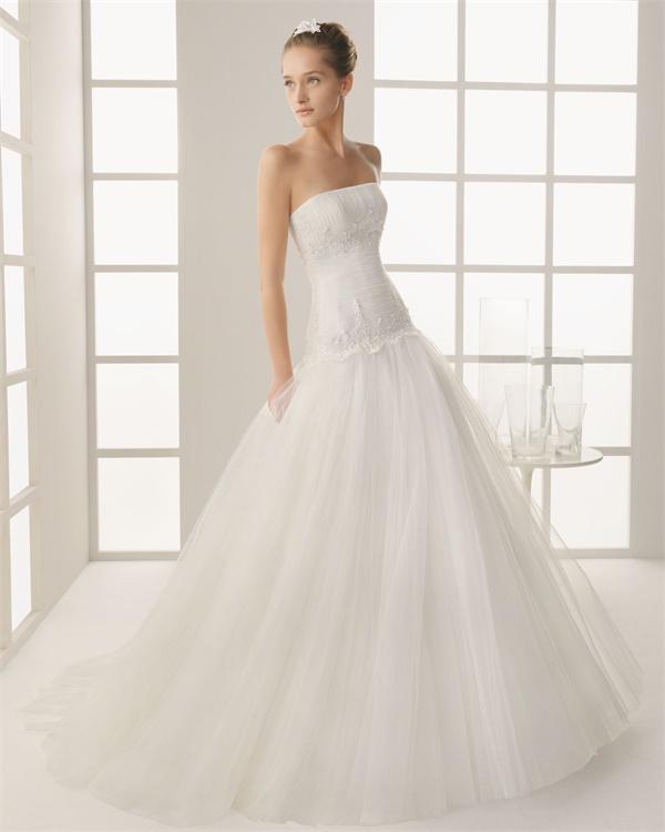 ウェディングドレス サイズオーダー無料 オーダードレス ウエディング プリンセスライン WEDDING DRESS 披露宴 結婚式 二次会 ws2548