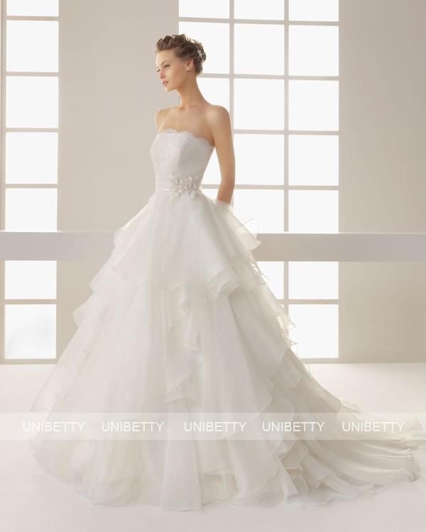 ウェディングドレス ウェディングドレス プリンセスライン サイズオーダー 結婚式 花嫁 披露宴 二次会