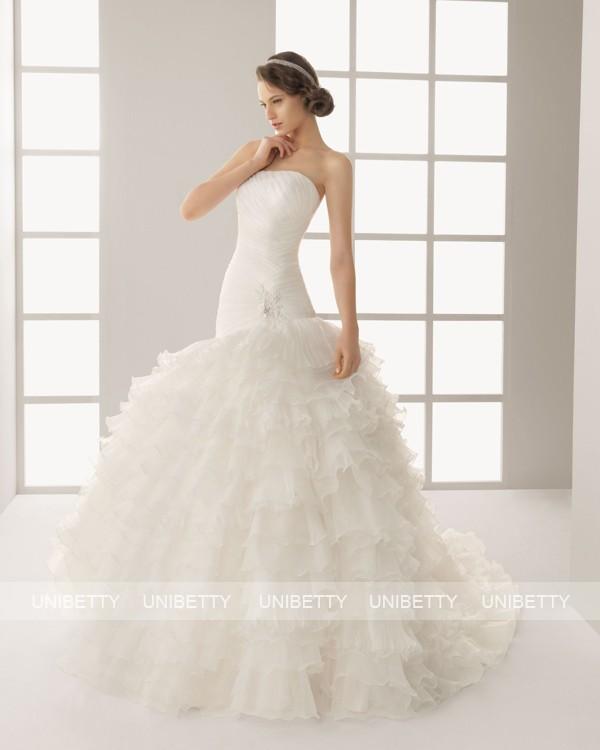 ウェディングドレス サイズオーダー無料 オーダードレス ウエディング プリンセスライン WEDDING DRESS 披露宴 結婚式 二次会 ws2583