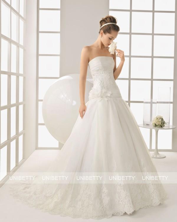 ウェディングドレス サイズオーダー無料 オーダードレス ウエディング プリンセスライン WEDDING DRESS 披露宴 結婚式 二次会 ws2546