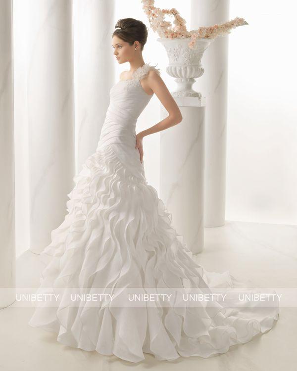 ウェディングドレス サイズオーダー 送料無料 プリンセスライン 結婚式 二次会 披露宴 ws2685