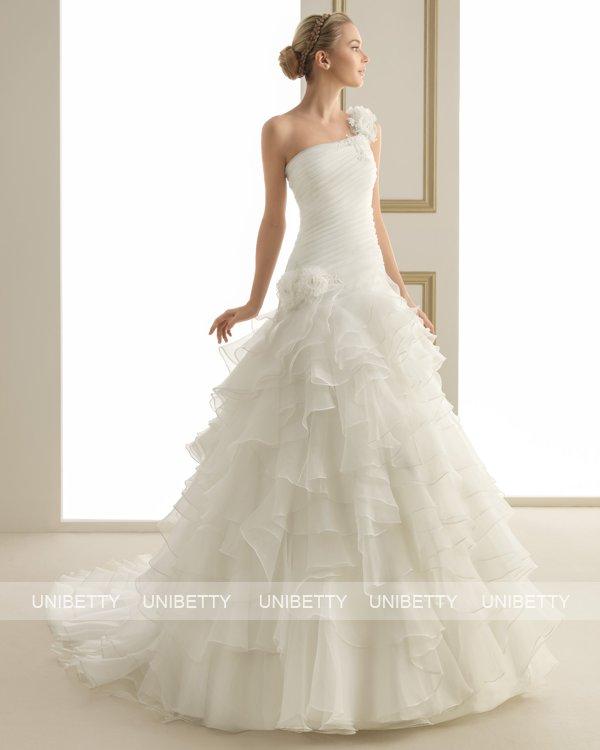 ウェディングドレス サイズオーダー 送料無料 プリンセスライン 結婚式 二次会 披露宴 ws2624