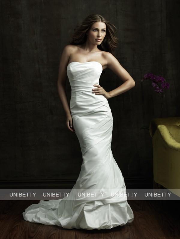 サイズオーダー ハンドメイド 手作り 豪華なウェディングドレス マーメイドライン カラードレス 結婚式 花嫁 披露宴 二次会 パxoreWdCBQ