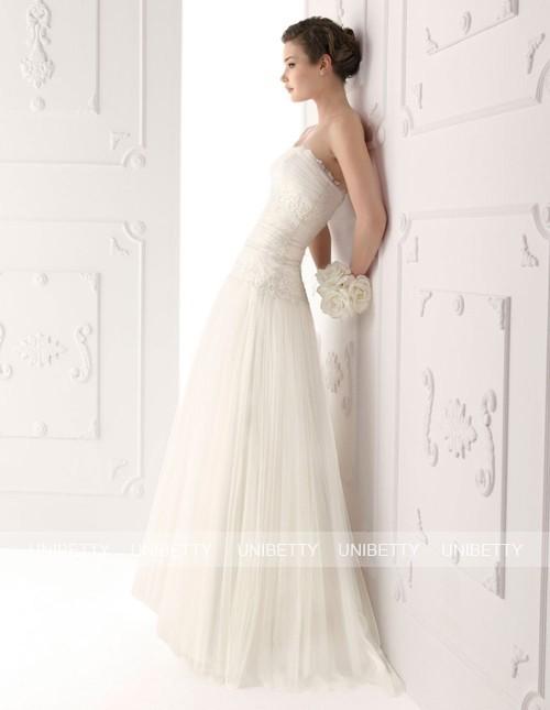 ウェディングドレス_スレンダーライン_結婚式_WS2255