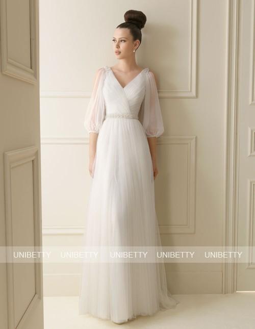 ウェディングドレス スレンダーライン サイズオーダー 結婚式 花嫁 ブライダル 披露宴 二次会 パーティー WS2144