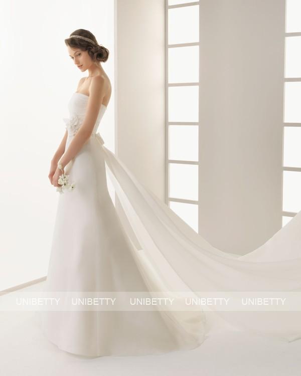 ウェディングドレス 結婚式 オーダードレス ウエディング スレンダーライン 結婚式 披露宴 二次会 花嫁 ws2589