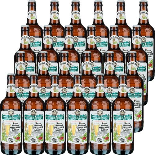【送料無料】サミエルスミス オーガニック ラガー/Samuel Smith's Organic Lager ビン・瓶 イギリス イングランド ビール 355ml 5.0% 24本セット 1箱 業務用 ※離島など別途追加送料エリアあり