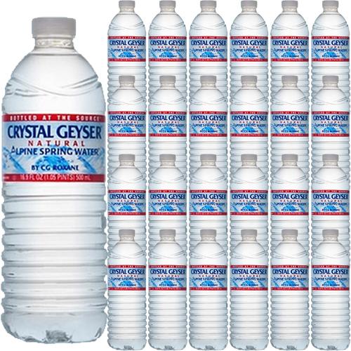 クリスタルガイザー 500mlペットボトル×24本セット