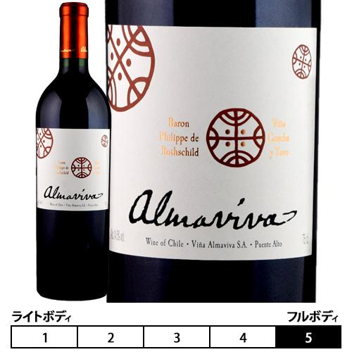 アルマヴィーヴァ[2017]コンチャ・イ・トロ/バロン・フィリップ・ド・ロスチャイルド 赤 750ml Concha Y Toro/Baron Philippe de Rothschild[ALMAVIVA]チリ 赤ワイン