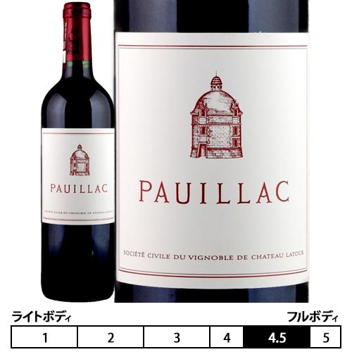 ポイヤック・ド・ラトゥール[2011]シャトー・ラトゥール 赤 750ml Chateau Latour[Le Pauillac de Latour]
