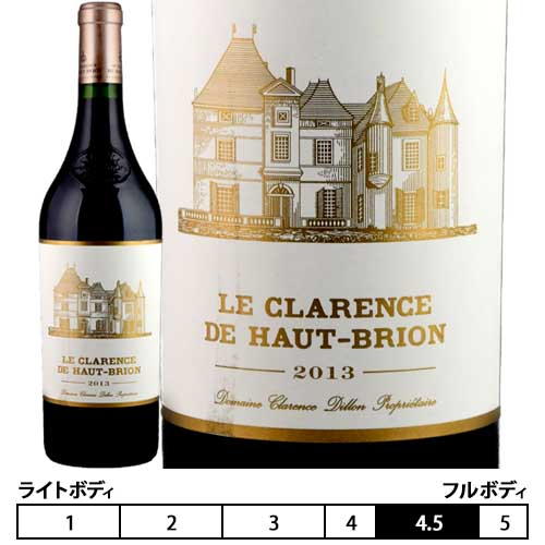 ル・クラレンス・ド・オー・ブリオン[2013]750ml ペサック・レオニャン[Le Clarence De Haut Brion]シャトー・オー・ブリオン セカンド