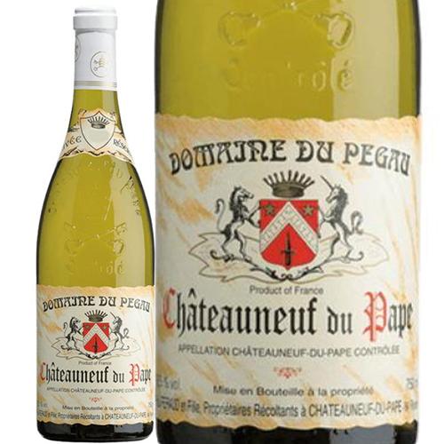 どんな年でも最高のシャトーヌフ・デュ・パプを造る事で知られる五つ星生産者 シャトーヌフ・デュ・パプ・ブラン・キュヴェ・レゼルヴェ[2019]ドメーヌ・デュ・ペゴー 白 750ml Domaine du Pegau[Chateauneuf du Pape Blanc Cuvee Reservee] フランス コート・デュ・ローヌ 白ワイン
