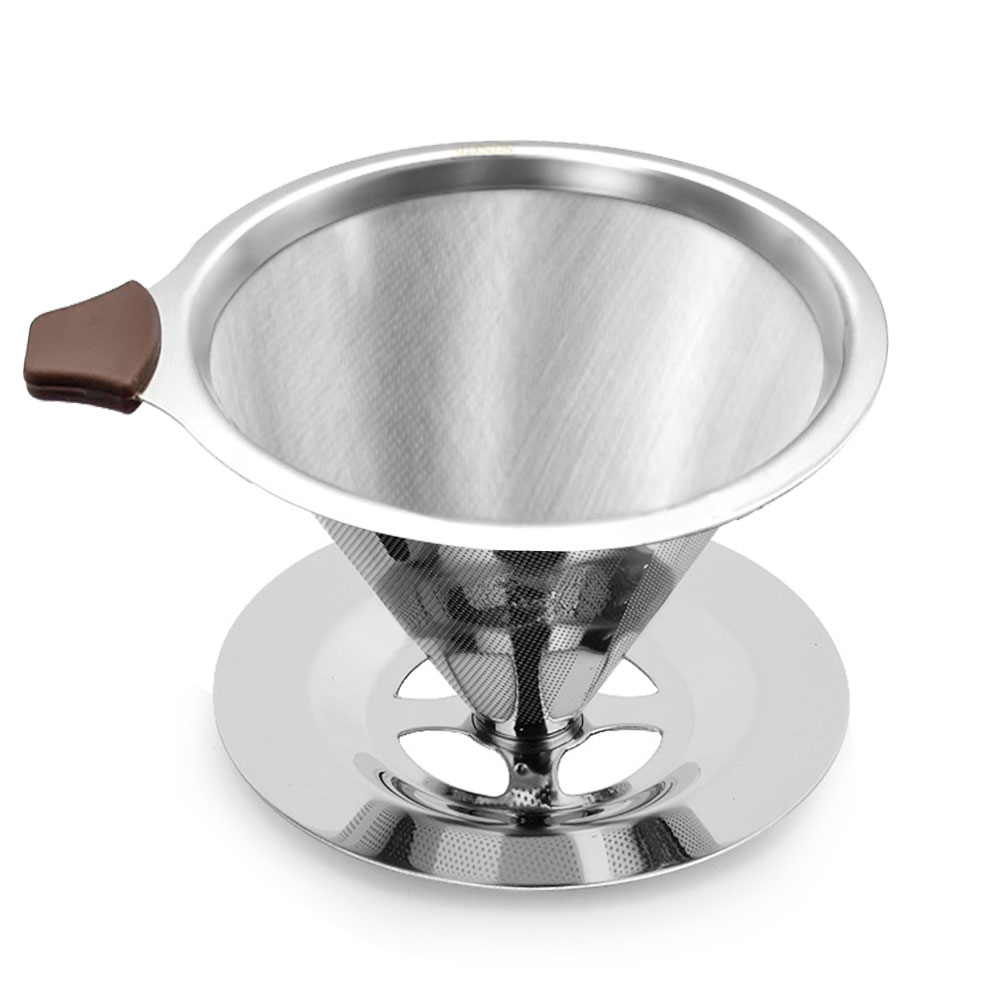 コーヒーフィルター マグカップにも適応 信託 紙フィルター不要 レビュー投稿プレゼント特典中 コーヒー ドリッパー ペーパーレス ステンレス ペーパー アウトドア 食洗機対応 低価格 フィルター 不要 1-4杯用 コーヒードリップ