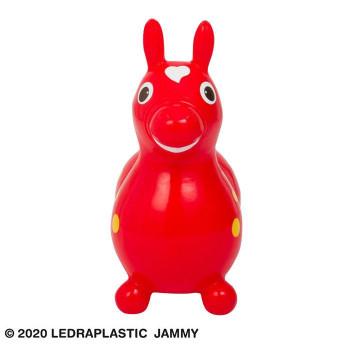 バランスボールの製造技術を用いて作られた馬型乗用玩具 Rody(ロディ) 乗用玩具 本体 茶目 レッド