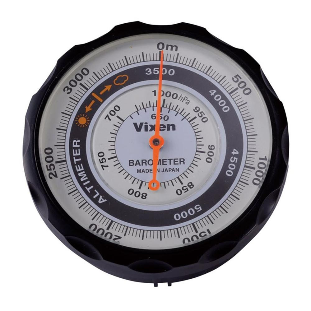 登山などで高度や気圧の変化を計る際に。 Vixen ビクセン 高度計 AL 46811-9