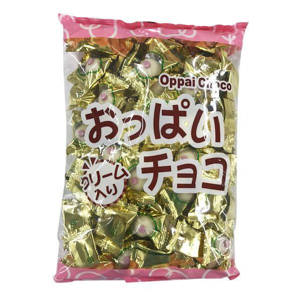 生クリーム入りのホワイトチョコ! おっぱいチョコ 500g×12袋 B-5