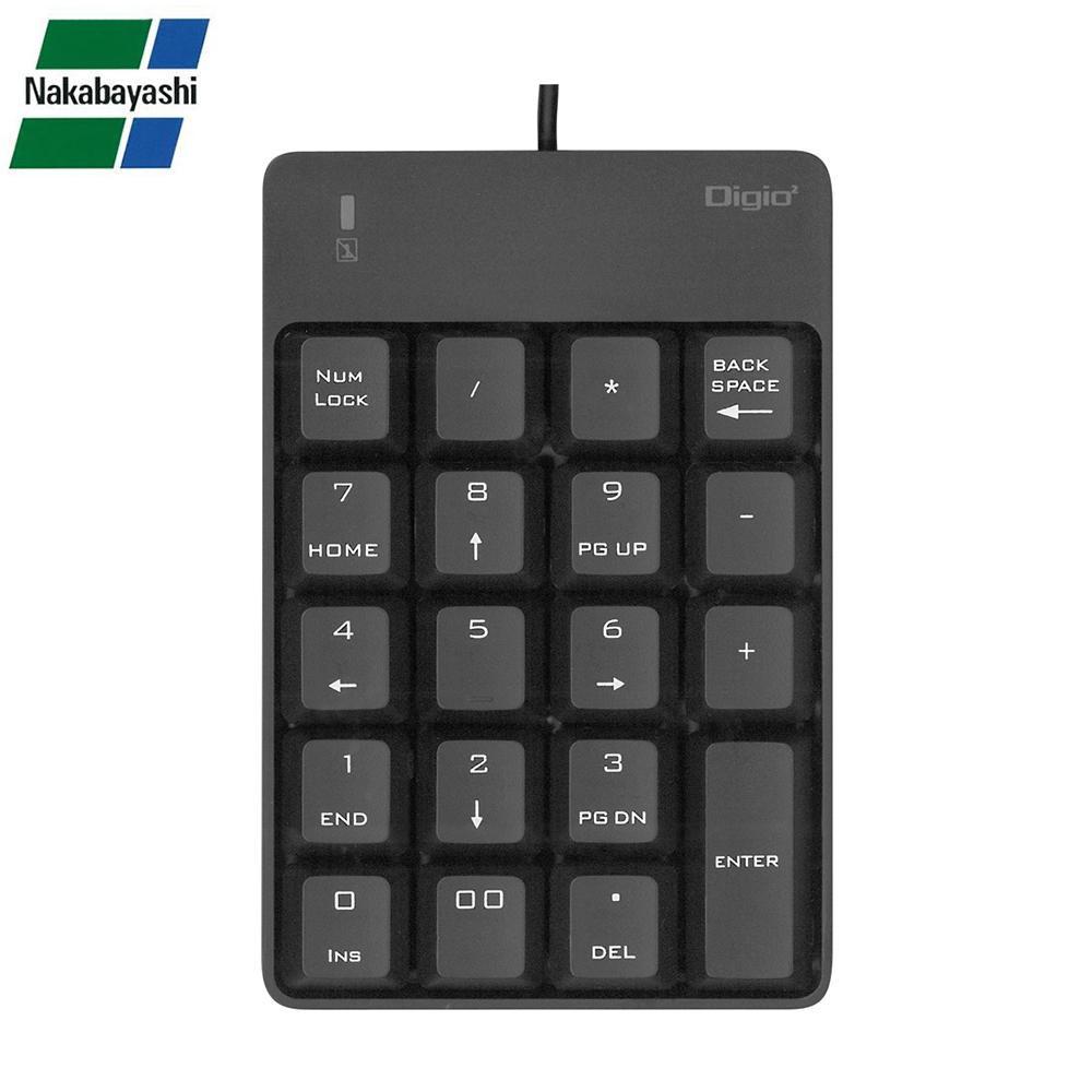 贈呈 すぐに使えるシンプルUSBテンキーボード ナカバヤシ Digio2 TNK-SU226BK USBテンキーボード 在庫一掃売り切りセール ブラック