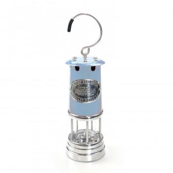 春の新作シューズ満載 評判 伝統製法によるハンドメイド品 鉱夫のランプ JDバーフォード BLUE Lサイズ マイナーズランプ