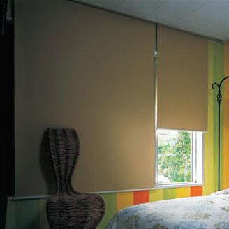 タチカワ TIORIOティオリオ ロールスクリーン遮光2級180×220cm≪TR-503・ブラウン≫