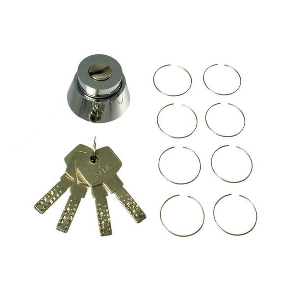 補助錠の交換にどうぞ HDS-DA SEPA取替シリンダーDA 4本キー 00776776-001 マート 超安い