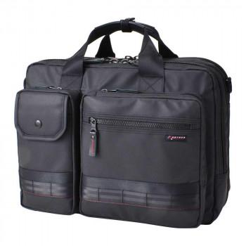 A4サイズ対応の3WAYビジネスバッグ ROTHCO 撥水 レッドライン3WAYビジネスバッグ 正規品 45004 新色追加して再販 ブラック M