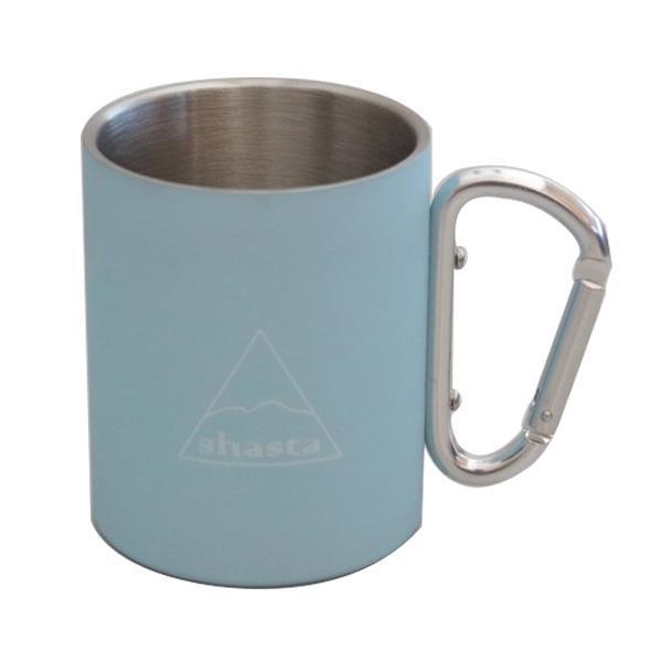 シンプルなデザインのマグカップ shasta シャスタ カラビナマグ 無料サンプルOK 往復送料無料 TWS-C-009 LB カラー