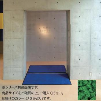 鮮やかな発色の屋内用マット インドアマット ブライトマットII きみどり 90×120cm 新生活 大人気! 12号
