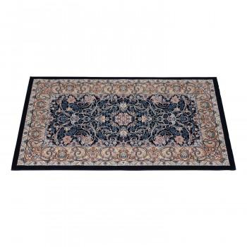 数量は多い  イラン製ウィルトン織玄関マット ネイビー 約60×90cm NIRISE60NV, 学生ショップ一番街 3d0f9c7d