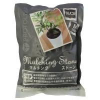観葉植物などの装飾に 新品 プロトリーフ 園芸用品 授与 マルチングストーン M ブラック 700g×30袋