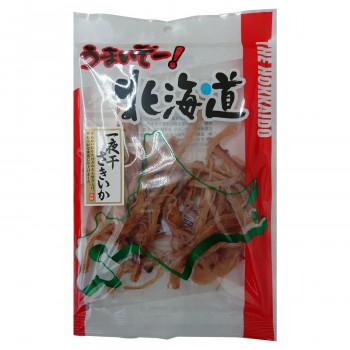 香ばしく焼き上げ 少し太めに裂いたさきいか 三友食品 珍味 おつまみ うまいぞー 正規逆輸入品 北海道 一夜干しさきいか 国際ブランド 60g×20袋