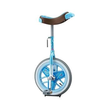 ブリヂストン製の一輪車 スケアクロウ 本物◆ 一輪車 ついに入荷 スケアクロー SCW14LB ライトブルー